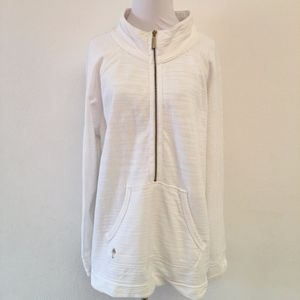 Lilly Pulitzer White Pullover Sweater Size XL